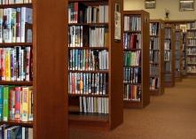 estante de livros imagem