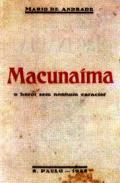 Macunaíma primeira edição